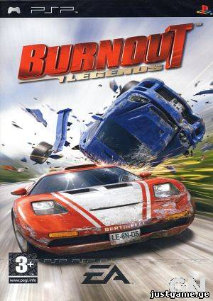 Burnout: Legends(2006/ENG/PSP - JustGame.GE