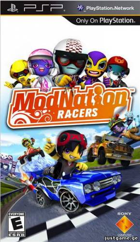 ModNation Racers (PSP/RUS/MULTI13/2010/Fix) - JustGame.GE