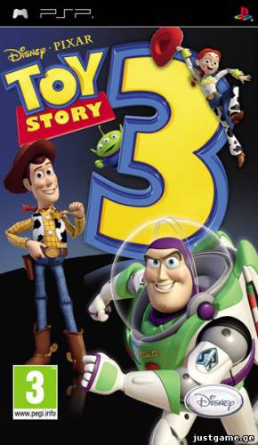 Toy Story 3: The Video Game (2010/MULTI3/PSP) - JustGame.GE