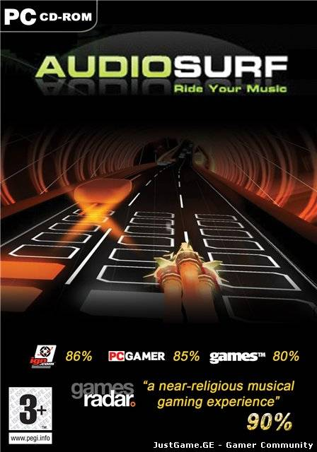 Audiosurf-ride your music