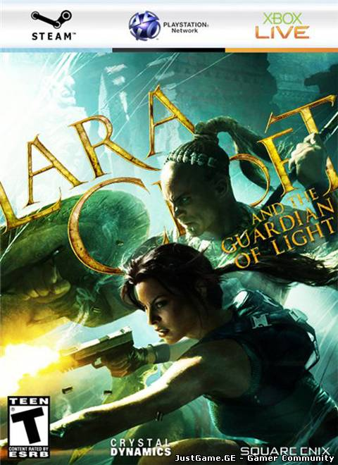 Lara Croft and the Guardian of Light (2010/ENG/XBOX360)
