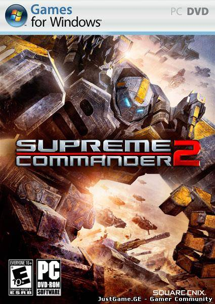 Supreme Commander 2 (2010/RUS/ENG) Update 13-SKIDROW
