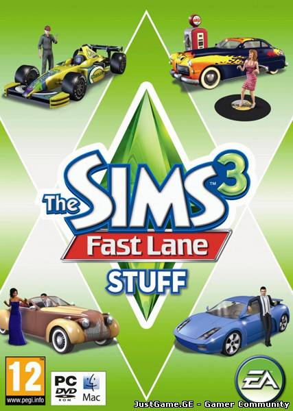 Sims 3: The Fast Lane Stuff (2010/ENG/RUS/MULTI/Add-on)